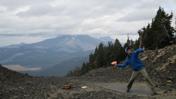 Ultra recovery: disc golf on Mt Bachelor